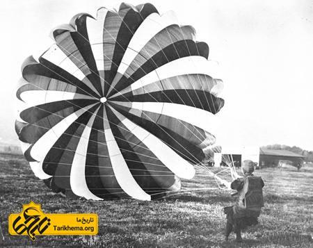 اولین زن چتر باز تاریخ
