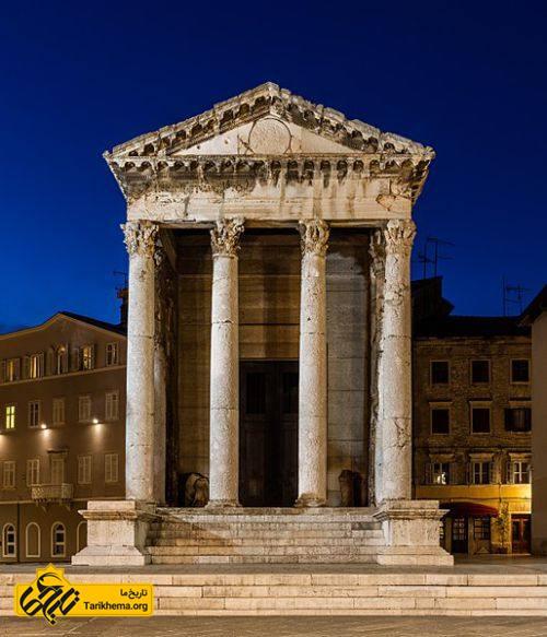 عکس مقبره آگوستوس در کروآسی %d8%a2%da%af%d9%88%d8%b3%d8%aa%d9%88%d8%b3 Tarikhema.org