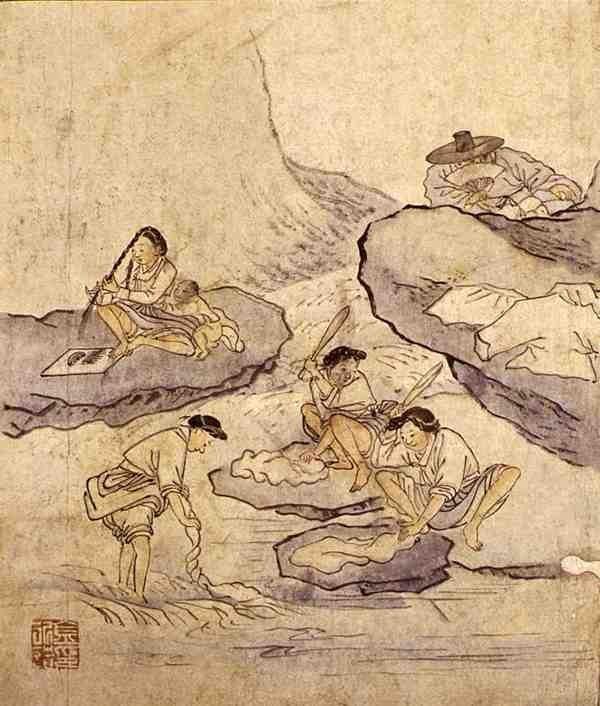گالری نقاشی های کیم هونگ دو