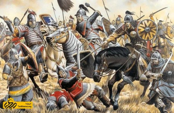 هجوم مغولان