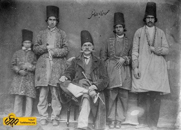 پوشش مردان در زمان قاجار