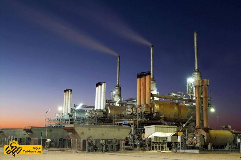 تاریخچه شرکت ملی نفت ایران