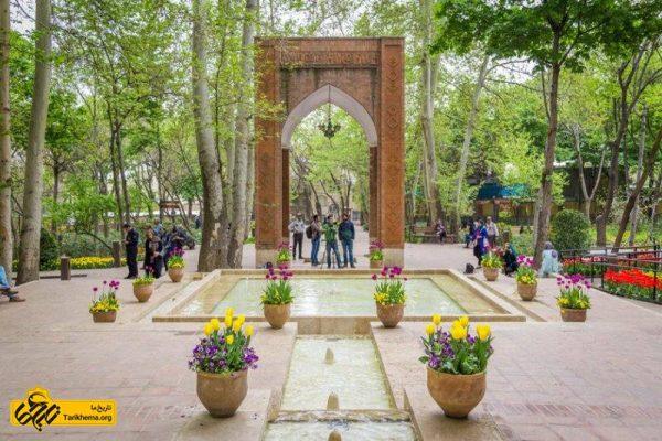 الهام از بهشت در معماری باغ ایرانی