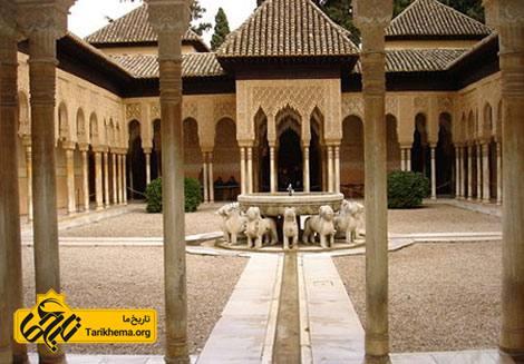 عکس تصاویر قصر الحمرا,قصر الحمرا در اسپانیا %da%a9%d8%a7%d8%ae-%d8%a7%d9%84%d8%ad%d9%85%d8%b1%d8%a7 Tarikhema.org