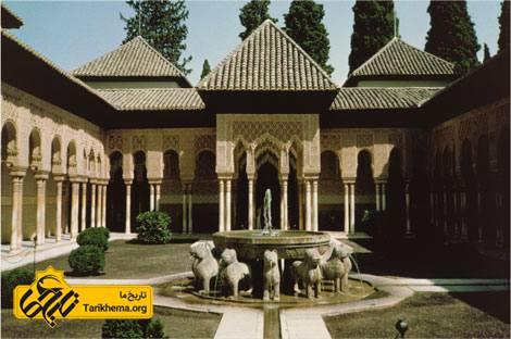 عکس تصاویر قصر الحمرا,آشنایی با قصر الحمرا %da%a9%d8%a7%d8%ae-%d8%a7%d9%84%d8%ad%d9%85%d8%b1%d8%a7 Tarikhema.org