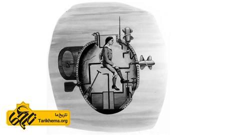 لاک پشت، نخستین زیردریایی