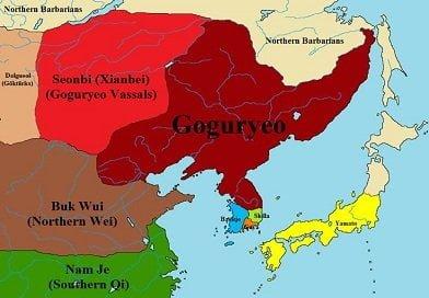 نقشه گوگوریو