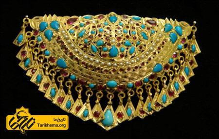 جواهرات و زیور آلات ایران باستان