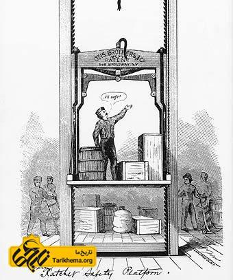 اختراع آسانسور