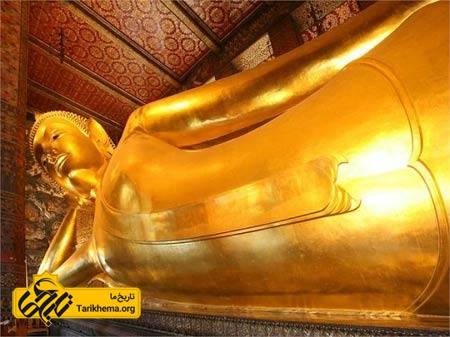 عکس معبد,دیدنیهای تایلند, معبد بودای خوابیده %d9%85%d8%b9%d8%a8%d8%af-%d8%a8%d9%88%d8%af%d8%a7%db%8c-%d8%ae%d9%88%d8%a7%d8%a8%db%8c%d8%af%d9%87 Tarikhema.org