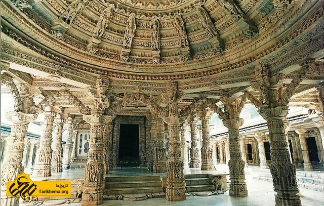 معابد شگفت انگیز جین در هند