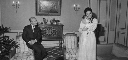 گزارش تصویری از عکاس فرانسوی که خانواده سلطنتی ایران را به تصویر کشیده