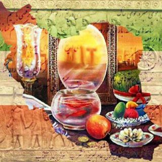 جمشید چهارمین شاهنشاه ایران بانی عید