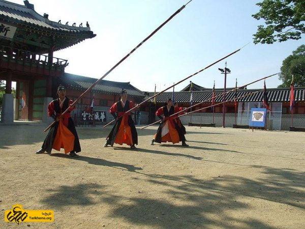 نیزه های کره ای