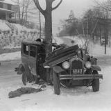 تصادف اتومبیلها در دهه 30 میلادی