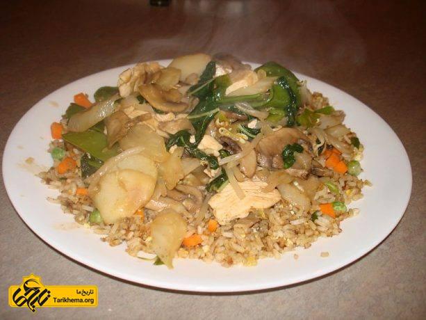 سبک آشپزی چینی در رستوران آمریکا