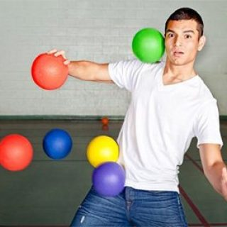 تاریخچه توپ داژبال (وسطی)