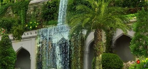 راز باغ های معلق بابل