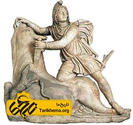 آیین گاوکشی مهر؛ تندیسی از فرهنگ رومی