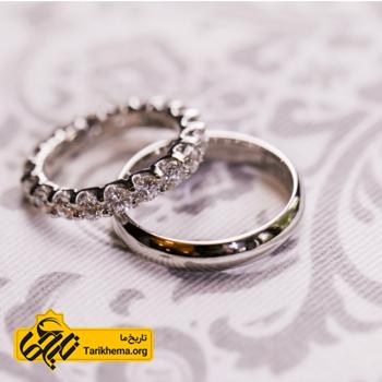 حلقه ی ازدواج ریشه در آیین مهر دارد