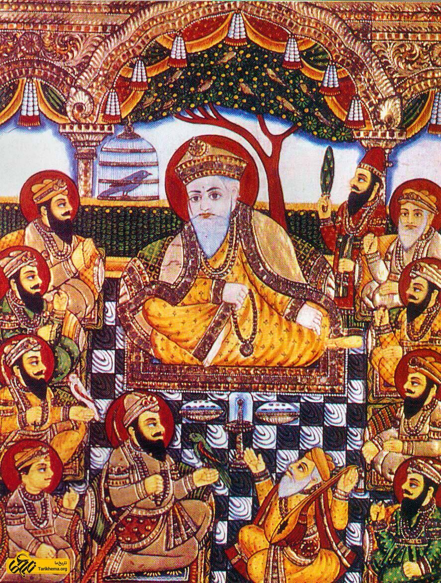عکس Image result for Guru Nanak %da%af%d9%88%d8%b1%d9%88-%d9%86%d8%a7%d9%86%da%a9-%da%a9%db%8c%d8%b3%d8%aa%d8%9f Tarikhema.org