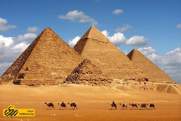 اهرام سه گانه مصر در شهر جیزه