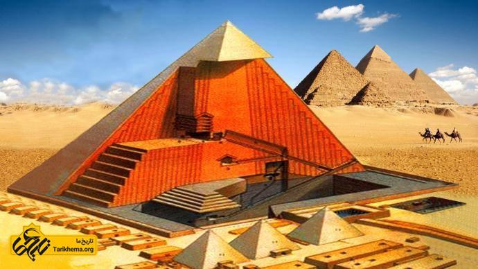 عکس Image result for inside Egyptian pyramids %d9%86%da%a9%d8%a7%d8%aa-%d8%b9%d8%ac%db%8c%d8%a8-%d8%af%d8%b1-%d8%b3%d8%a7%d8%ae%d8%aa-%d8%a7%d9%87%d8%b1%d8%a7%d9%85-%d9%85%d8%b5%d8%b1 Tarikhema.org