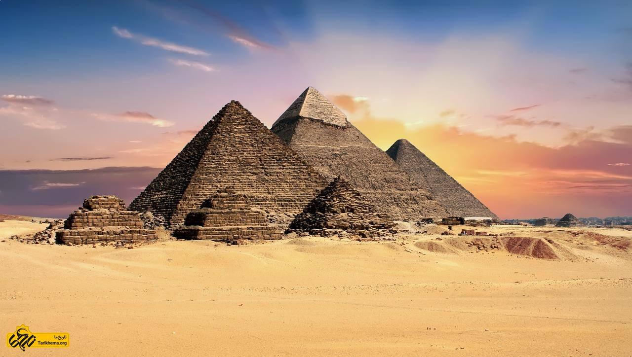 عکس Image result for Egypt Pyramids %d9%be%d9%86%d8%ac-%d9%88%d8%a7%d9%82%d8%b9%db%8c%d8%aa-%d8%b9%d8%ac%db%8c%d8%a8-%d8%a7%d9%87%d8%b1%d8%a7%d9%85-%d9%85%d8%b5%d8%b1 Tarikhema.org