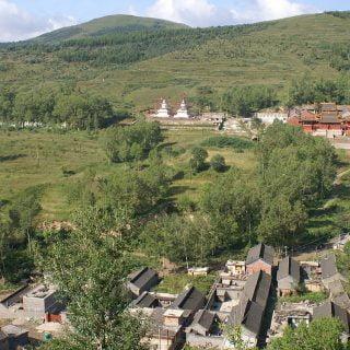 """"""" وو تای"""" کوه دیدنی در چین"""