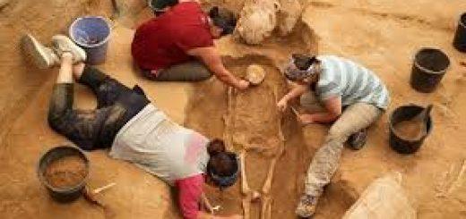 گورستان باستانی در فلسطین
