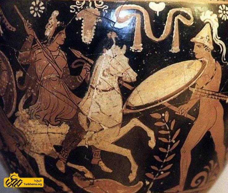 زنان ایران باستان در جنگ ( قرن پنجم پیش از میلاد)
