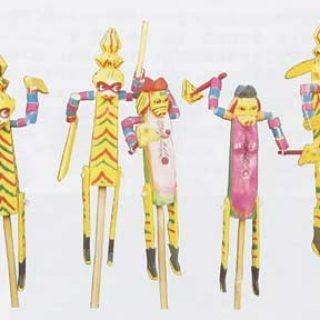 شاه میمون و شاه خوک شخصیتهای عروسکی معروف در چین