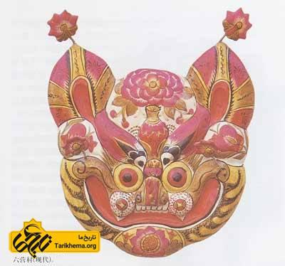 ببر گلی، هنر مردم چین باستان
