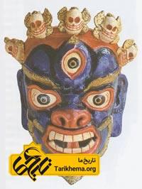 ماسک خدایان تبتی