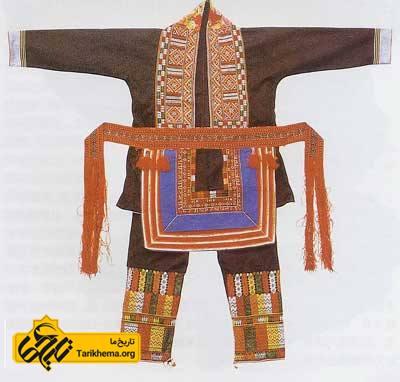 لباس زنان ملیت « یائو» در چین باستان
