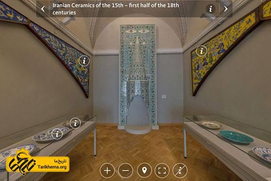 آثار ایرانی در موزه های جهان