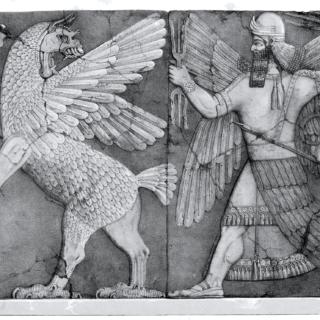 آنزو ، عقابی با سر شیر
