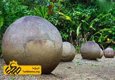 تاریخ گویهای سنگی کاستاریکا