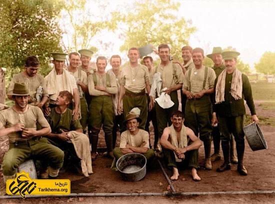 تصاویر رنگی از جنگ جهانی اول