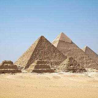 اکتشاف شگفت انگیز در اهرام جیزه مصر
