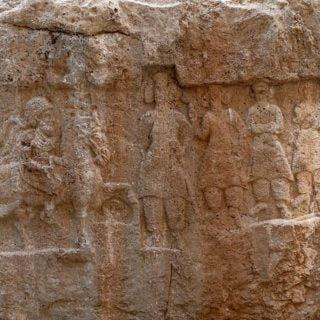 ویدئوی کتیبه عظیم و باستانی دوره اشکانیان
