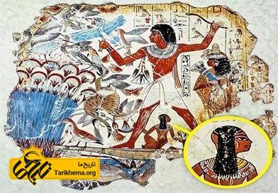 در مصر باستان کودکان مدل موی ویژه ی خود را داشتند