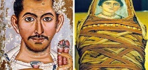 در مصر باستان پرتره های ترحیمی جای خود را به مومیایی ها دادند