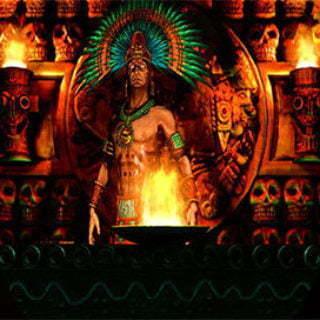 سنت مراسم آتش جدید آزتک ها