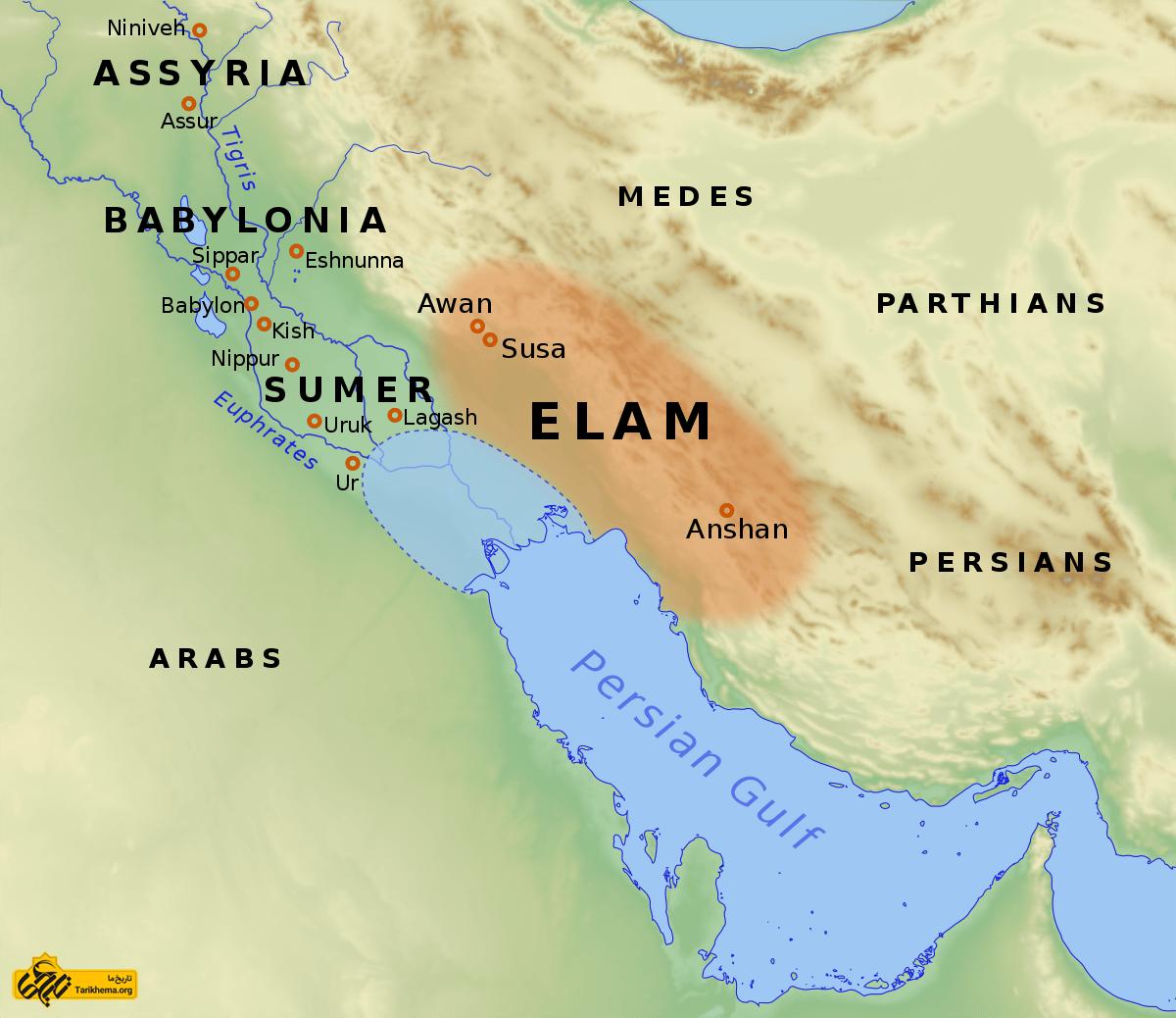عکس Image result for Elam %d8%b9%db%8c%d9%84%d8%a7%d9%85-elam Tarikhema.org