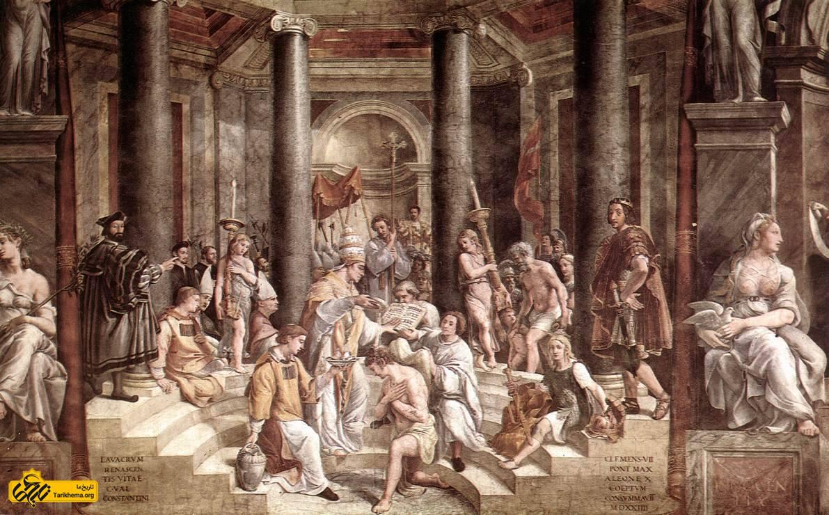پیدایش اسلام و فتوحات مسلمانان در قلمرو روم