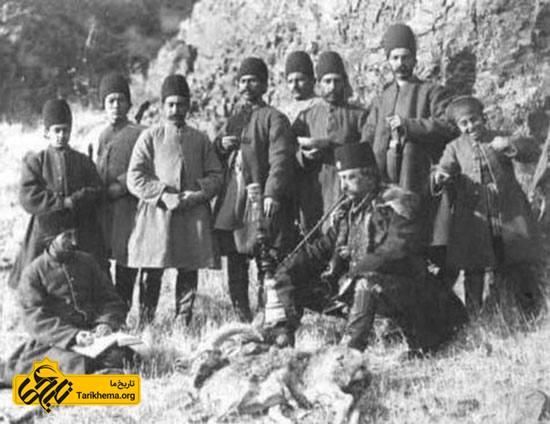 قلیان ناصرالدین شاه قاجار