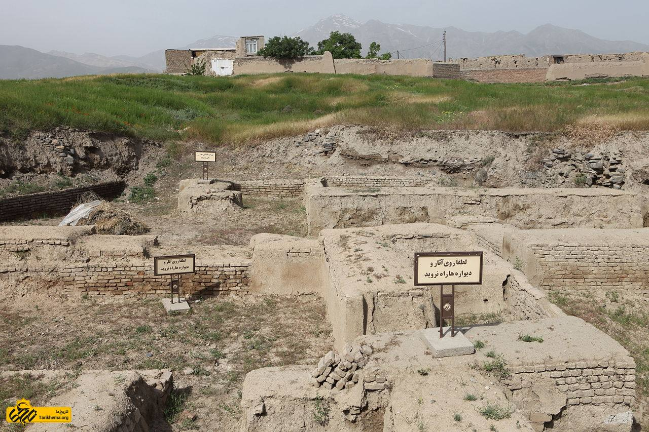 پایتخت حکومت مادها کجا بوده است؟