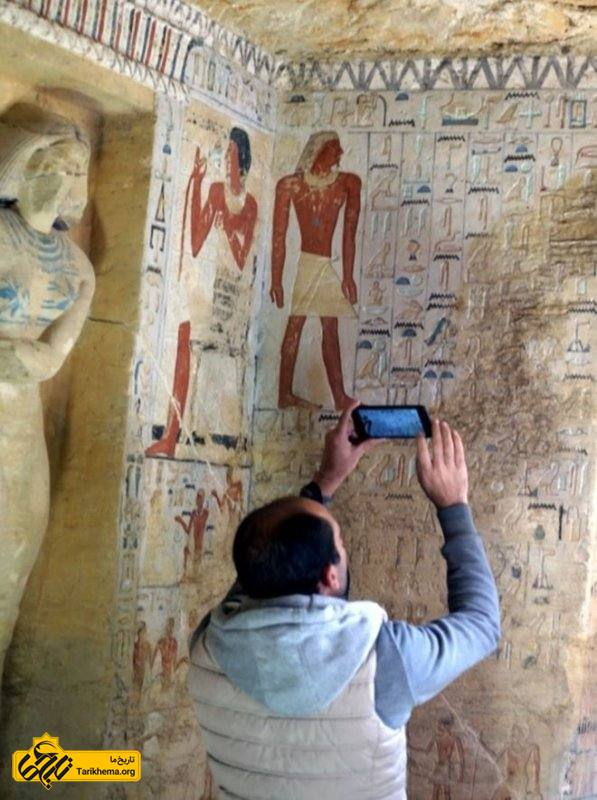 رنگهای درون مقبره به طور غیرمعمولی ۴۴۰۰ سال دوام آوردهاند