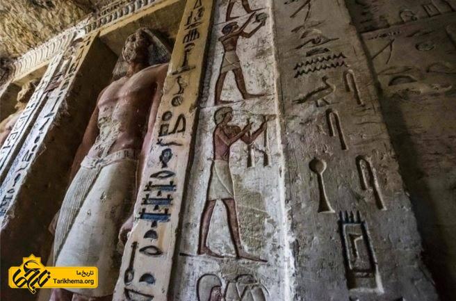 کشف مقبره کاهن در مصر